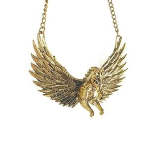 Jewelry - Dimensional Pegasus Necklace